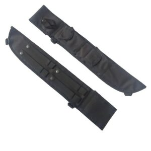 Black-Canvas-18-inch-Rothco-MOLLE-bush-latin-machete-sheath