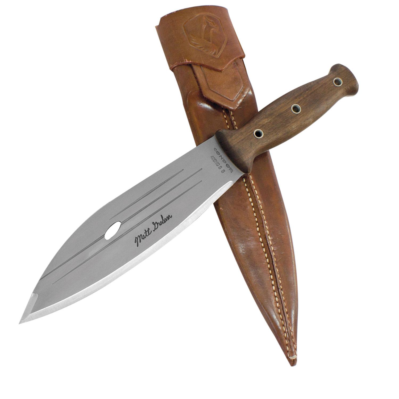 Primitive Knife Condor 8 Inch Primitive Bush Blade With Sheath