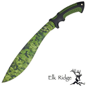 Elk Ridge Camo Kukri Machete with sheath ER523CA 1