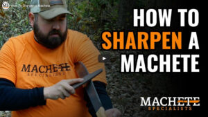 How to Sharpen a machete video cover