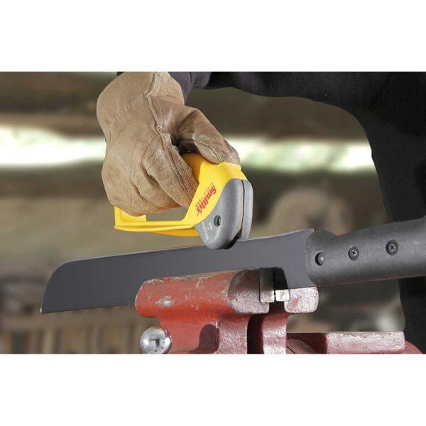 Smiths Sharpeners Axe & Machete Sharpener 50523 vice how to