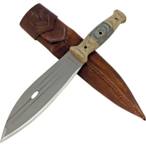CTK2428HC Condor 8-Inch Primitive Bush-High-Carbon Blade with Sheath